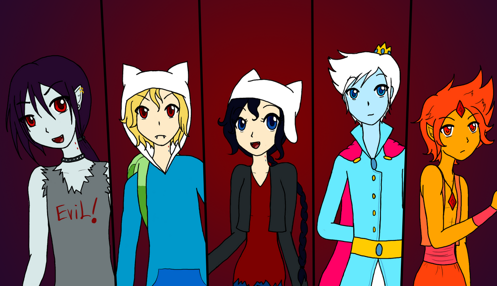 Anime Adventure Time With Madeline And Fritz By Ciaxlia On