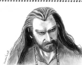Thorin Oakenshield by Sandrielle