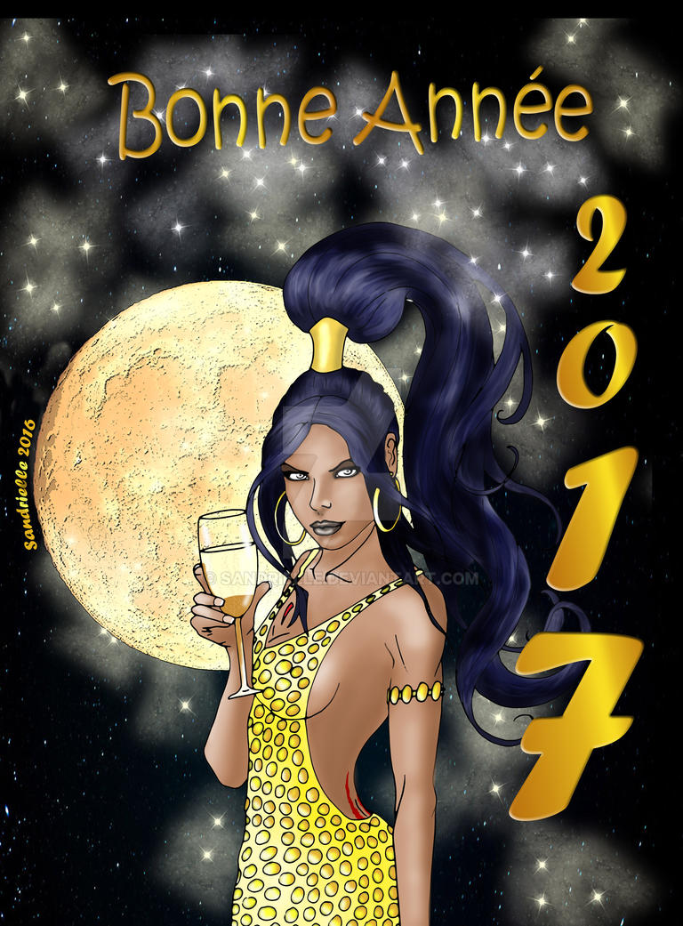 Nouvel An 2017 by Sandrielle