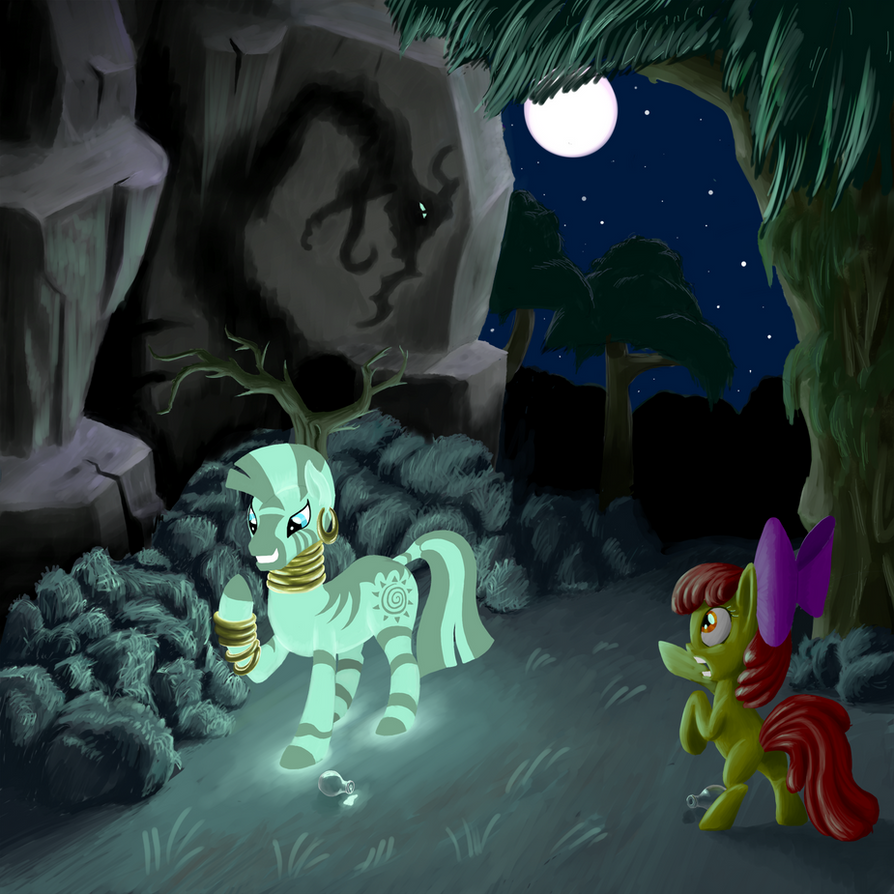 Glowing Zecora