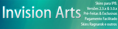 Invision Arts skins by maarck