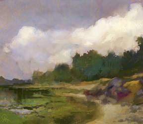 mossy lake by dreamin-Lea
