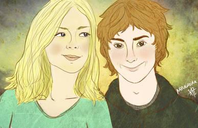 Mary and Patrik by p0lar0ida