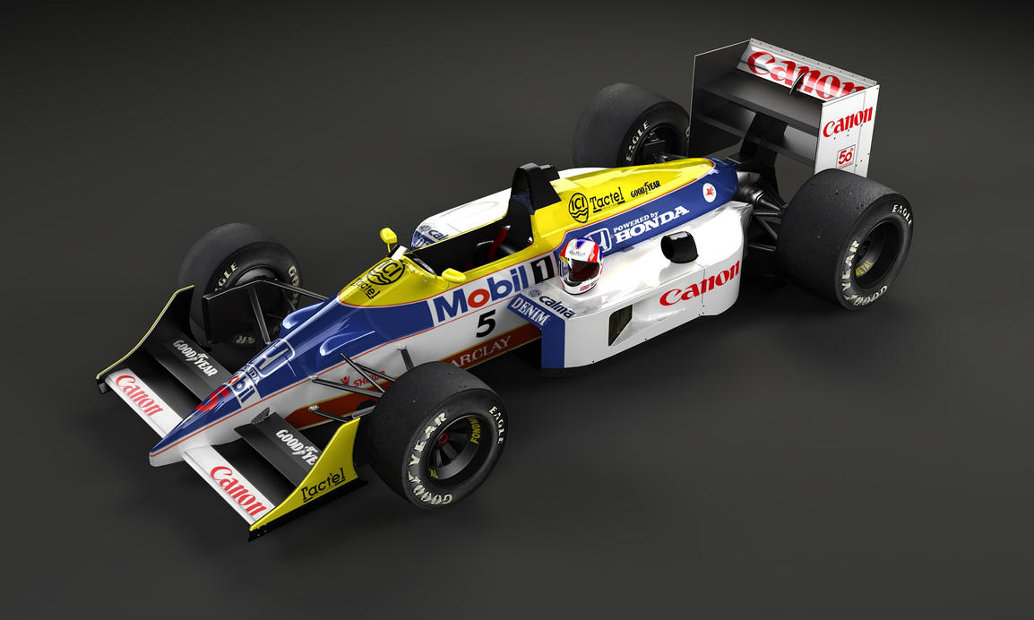 williams Fw11 Mansell by TheUncle