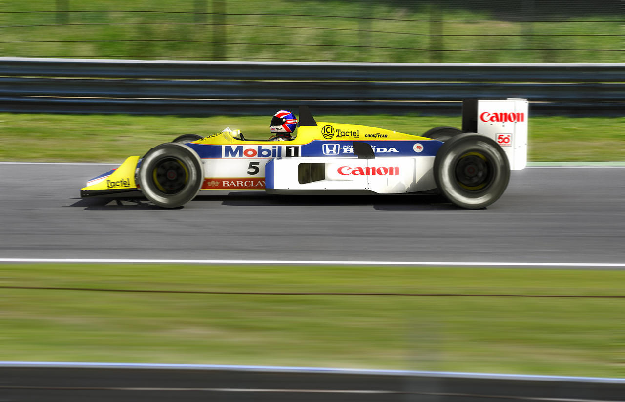 williams Fw11 on the run by TheUncle