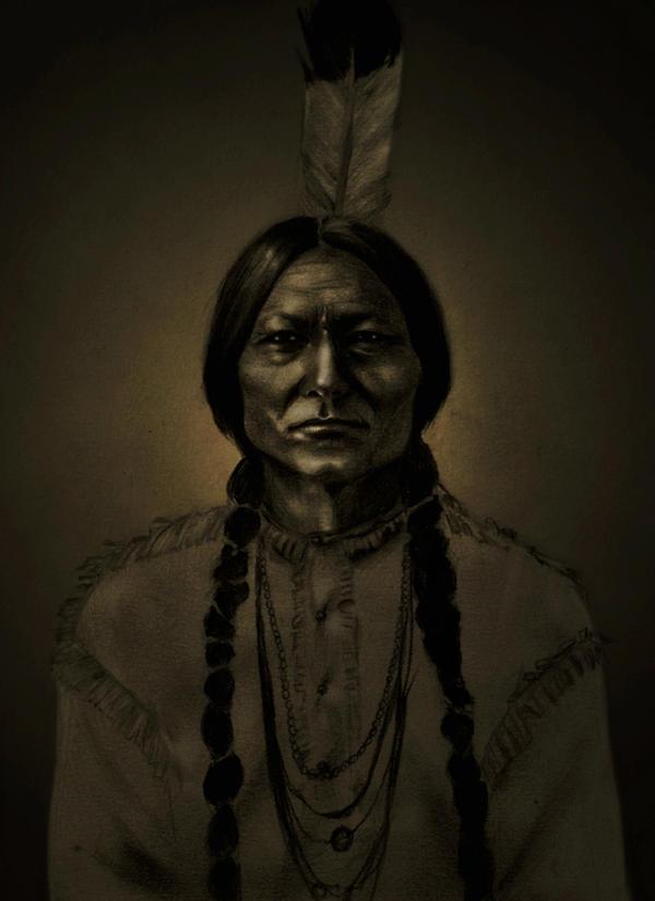 Sitting Bull by MademoiselleNoName