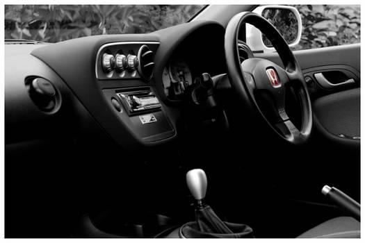 Integra Type R Cockpit