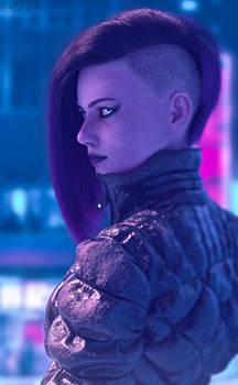 Cyberpunk 2077 Portrait