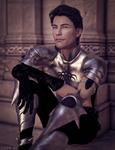 Fantasy male warrior