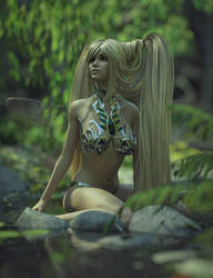 Fairy In The Water