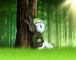 Meloetta in the Forest [First Art]