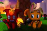 Chao World - Chilling on Sunset