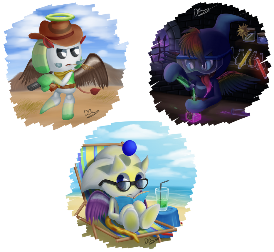 Chao Art of Fame #1 by DarkyBenji
