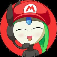 [100 Watchers special] Meloetta /w Mario Hat by DarkyBenji