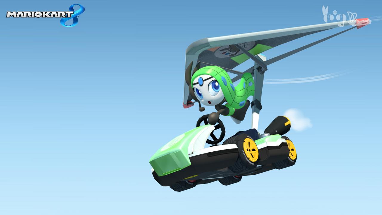 Mario Kart 8 - Meloetta by DarkyBenji
