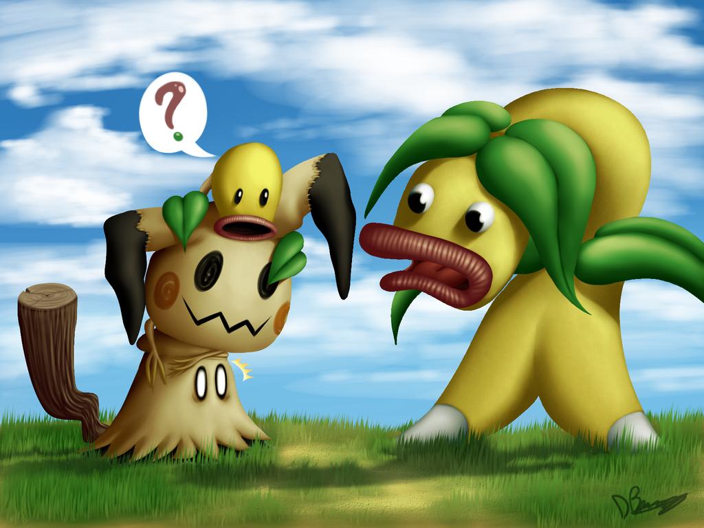 Encounter a Beta Pokemon by DarkyBenji