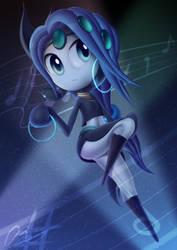 Meloetta - Blue but w/ Green Design