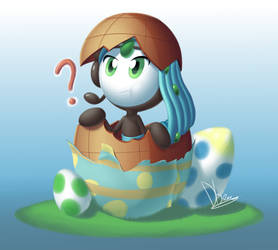 Shiny Meloetta - Happy Late Easter