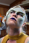 Alien makeup 1 by AcrotomicStudios