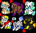 Kittydog adopts [4/6 OPEN]