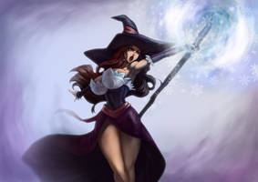 dragon's crown sorceress by chucheeness