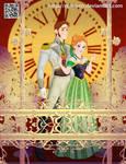 Hans y Anna Frozen Disney