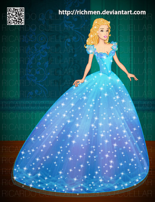 Cinderella Cenicienta 2015 by Richmen on DeviantArt