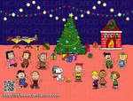 Snoopy and Charlie Brown Christmas Party