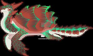 Seamonster Adopt: Green Sea Turtle [SOLD]