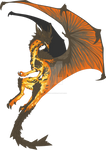 Custom Dragon Commission: IcyBeat