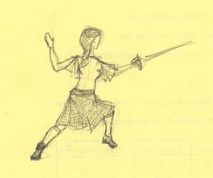 Fencing sketch