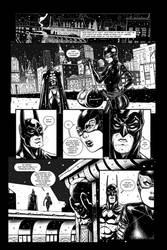 Batman sample page #1 by KenanZe