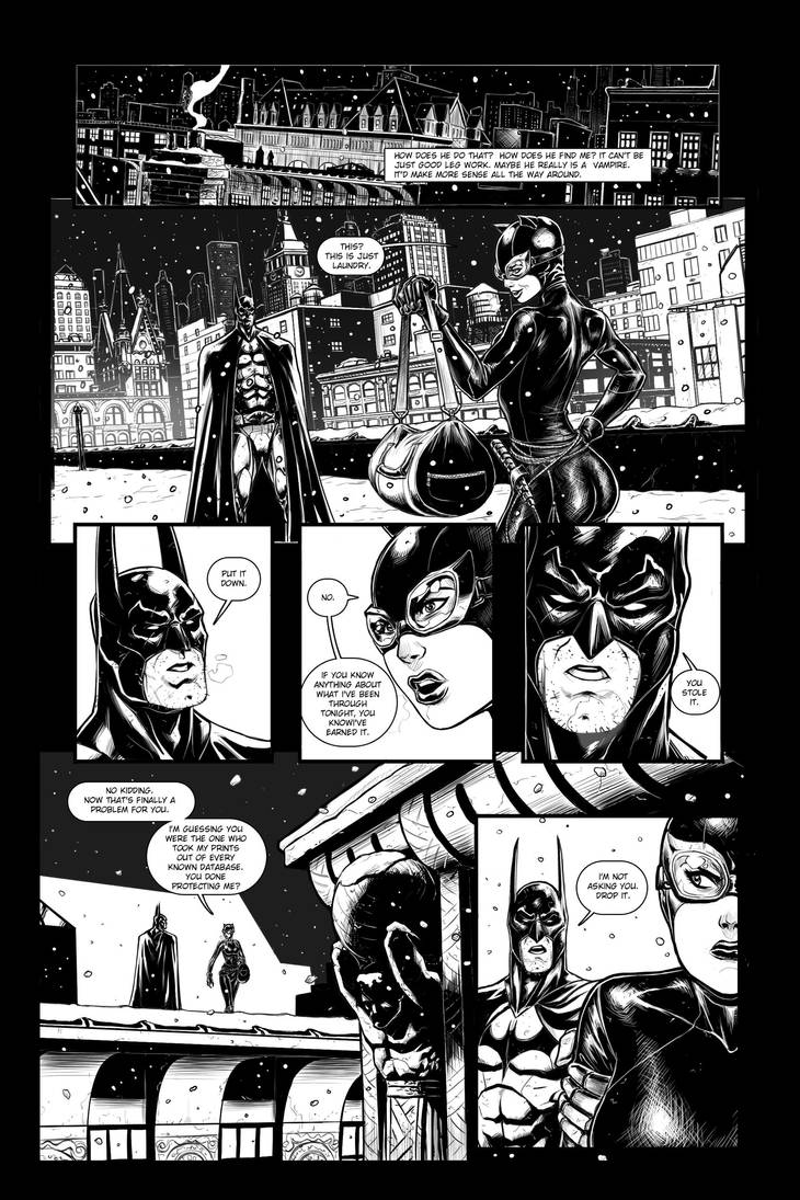 Batman sample page #1