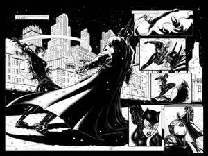 Batman sample page #2 and #3