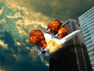 plane crashing by ienkub