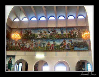 The Paintings in the wall by Arsiema