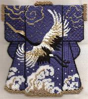 Kimono Crane by FiberGoddess