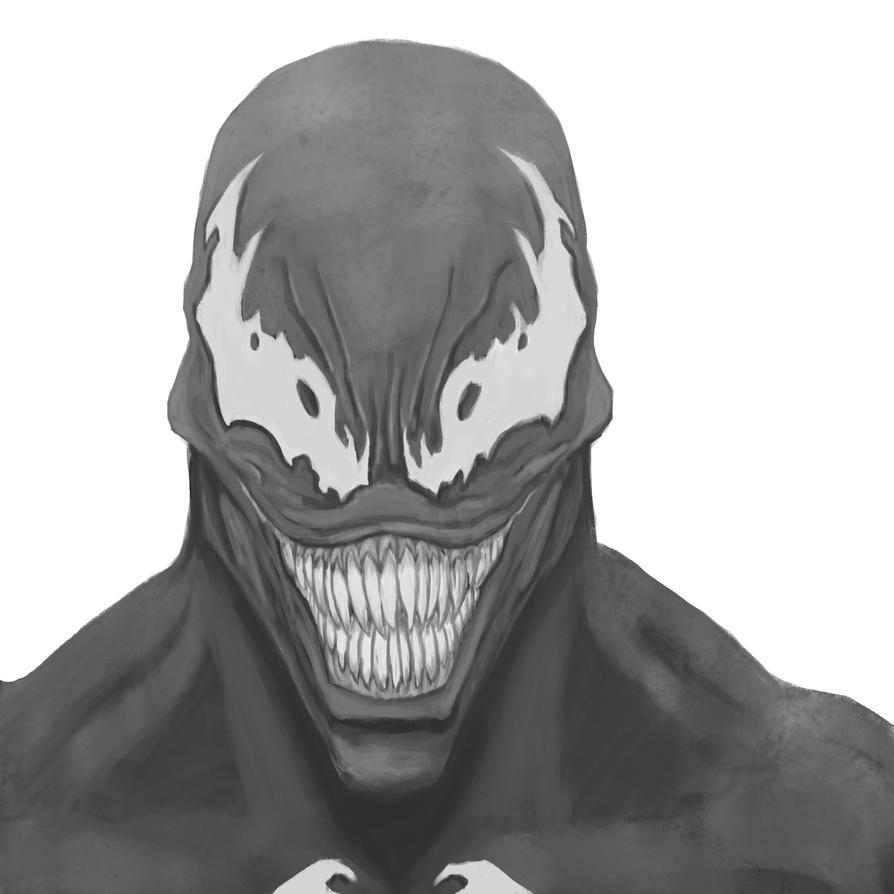 Venom Face Stencil Images & Pictures - Becuo