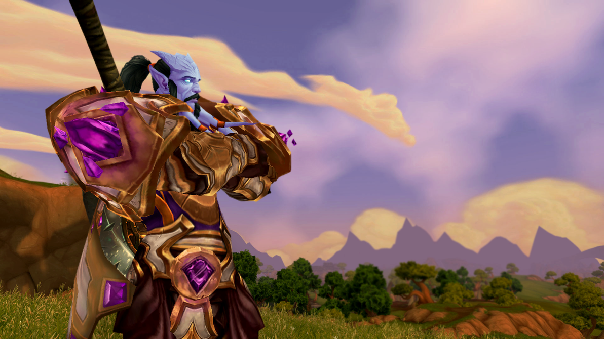 Contemplation in Nagrand by MullinstheGreat