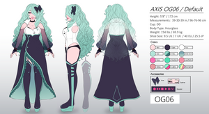 AXIS Default Revamp Reference by LadyOgien