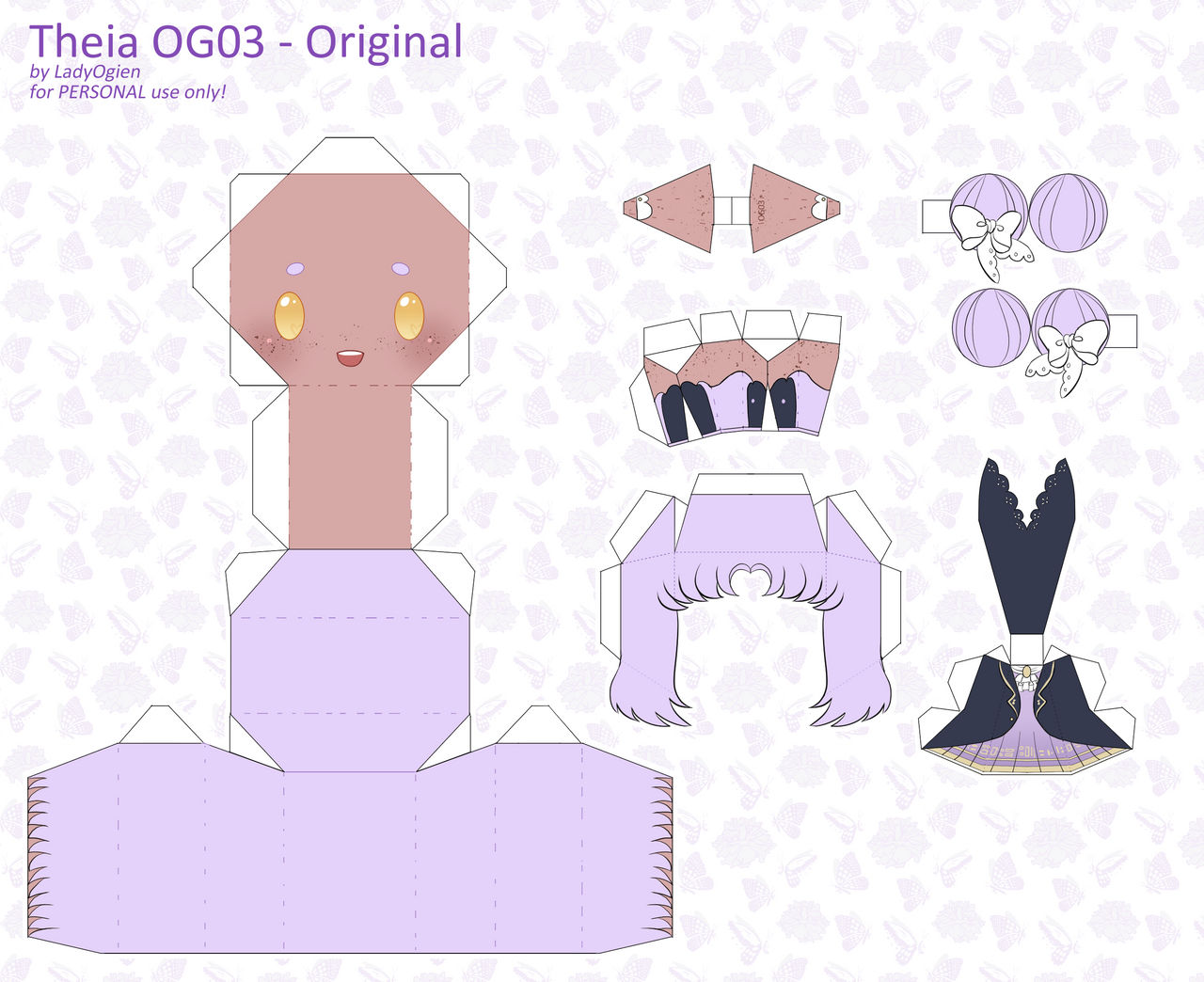 Theia OG03 Papercraft