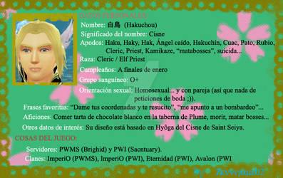 Haku's file