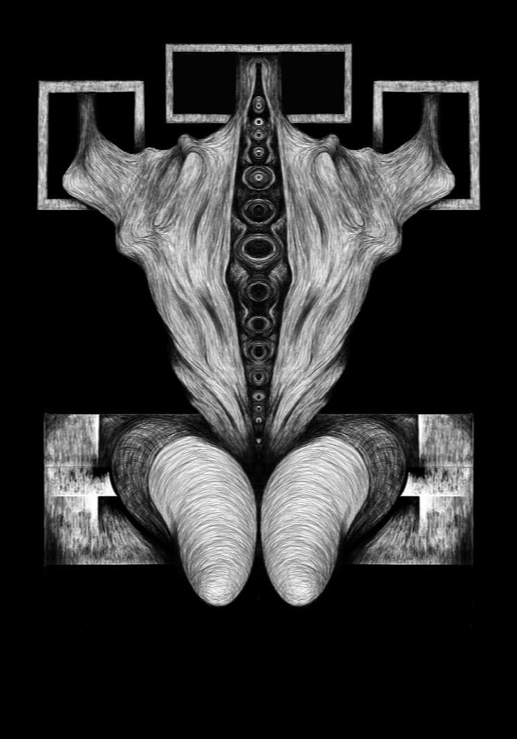Biomechaniod Goddess by WitchGhost