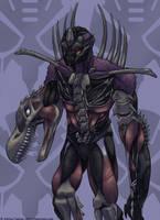 Beast Wars Movie Megatron by Transypoo
