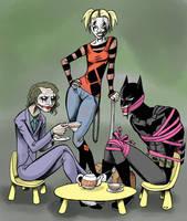 Batman vs. The Joker by Transypoo