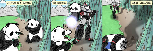 A Panda Eats Shoots and Leaves