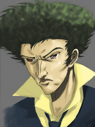 Spike Spiegel Colored by Transypoo