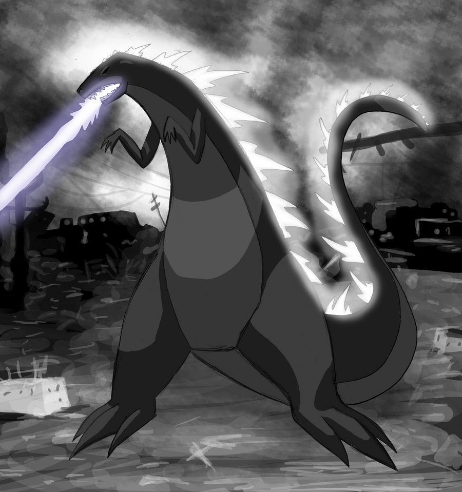 Transypoo Godzilla Poster
