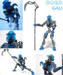 Bionicle: Toa Gali by Transypoo