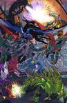 Dinobots V Predacons color